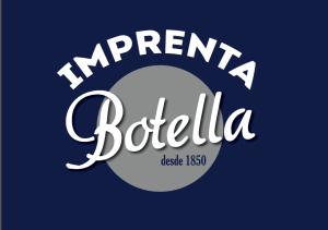 imprenta botella logo