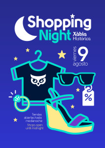 flier A5 shopping night agost 2019 xarxes-01